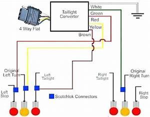 4 Pin Trailer Connector Diagram