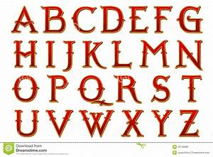 Digital scrapbook alphabet narnia stock photo for Alphabet photo letters