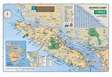 Map of Vancouver Island   Vancouver Island Vacation Guide