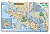 Map of Vancouver Island | Vancouver Island Vacation Guide