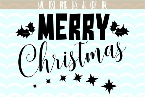 christmas vector merry christmas svg cutting files vector svg png jpg eps ai dxf