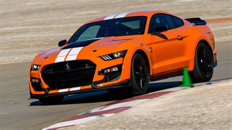 mustang gt500 shelby ford pony drive gt ever mach motortrend 2021 speed baddest dct tesla tremec vs iconic wheel jaguar