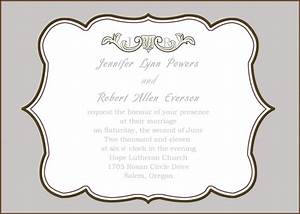 Inspirational horizontal wedding invitation picture frame for Horizontal wedding invitation picture frame