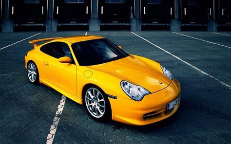 porsche cars vehicles german sports cars land yellow cars