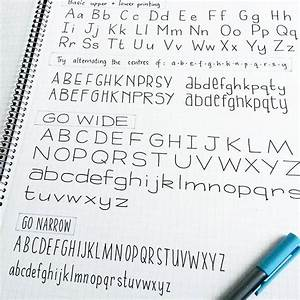 25 best ideas about types of lettering on pinterest With good pens for lettering