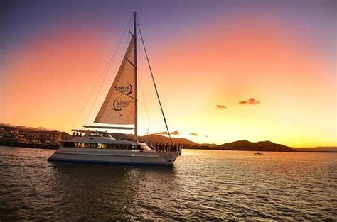 Catamaran Harbor Cruise by Cairns Luxury Catamaran Harbor And Dinner Cruise Foto Di