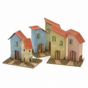 Maison De Noel Miniature : maison en miniature pour cr che de noel cm 10x4 5 vente en ligne sur holyart ~ Nature-et-papiers.com Idées de Décoration
