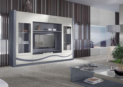 meubles bureau design acheter votre meuble télé contemporain en chêne gris et