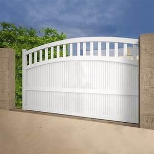 Portail Alu Coulissant 3m : 1000 id es sur le th me portail aluminium coulissant sur ~ Edinachiropracticcenter.com Idées de Décoration