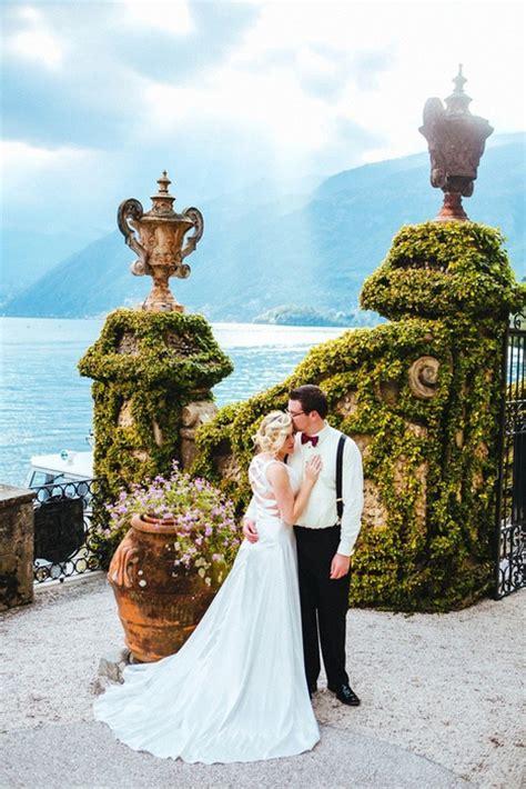 Elijah And Rebeccas Lake Como Villa Wedding