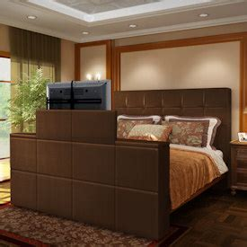 tv lift footboard create your own tv lift bed by tvliftcabinet ebay