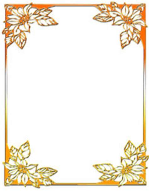orange ms word stationery template  maker
