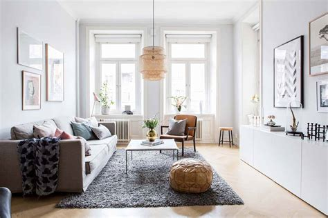 Small Scandinavian Apartment Open Airy Design by Bright And Airy Two Bedroom Scandinavian Apartment Interior