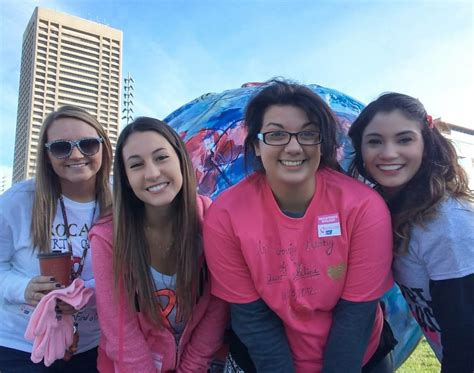 rad tech club walks support breast cancer awareness trocaire college