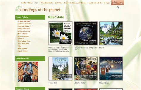 bellingham web design soundings of the planet bob paltrow web design