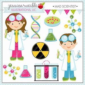 Mad Scientist Cute Clipart, Scientist Kids, Science Clip ...