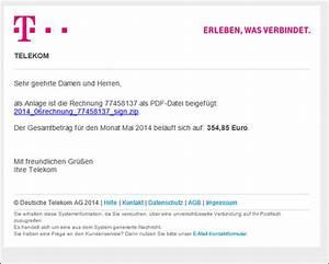 Telekom Mobilfunk Rechnung Online : trojaner warnung telekom e mail mit rechnung online monat mai oder juni 2014 mimikama ~ Themetempest.com Abrechnung