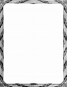 Elegant Border Frame | Clipart Panda - Free Clipart Images