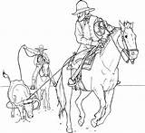 Cowboy Coloring Pages Print Soldier Winter sketch template