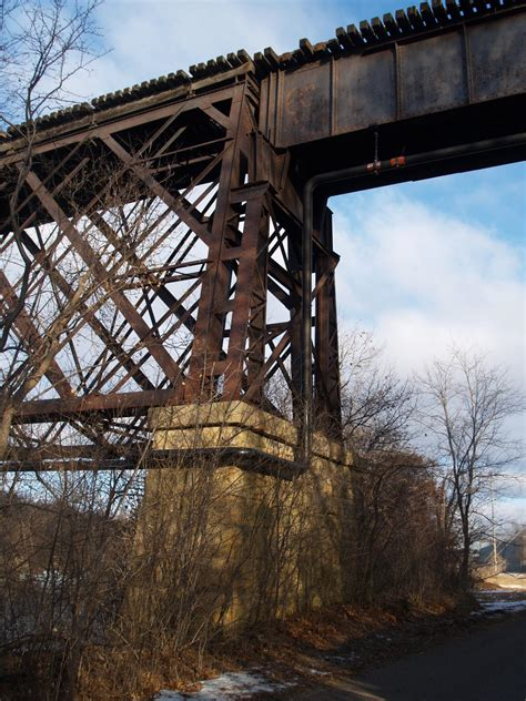 bridgehuntercom northwestern railroad bridge
