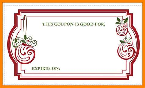 blank coupon template 8 blank coupon template free dialysis