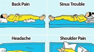 9 sleeping positions to improve your health and life 9 With best way to sleep with back pain