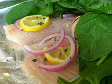 baking tilapia at 400 baked tilapia pre heat oven to 400 place fresh fish in foil with lemon and red onion slices