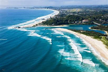 Beach Currumbin Australia Beaches Clean Visit National