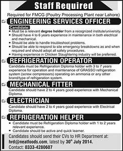 Neat Food Private Limited Jobs 2014 July For Electrical