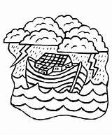Coloring Bible Noah Ark Pages Flood Sheets Activity Clipart Crafts Story Clip Print Noahs Popular Library Comments Coloringhome sketch template
