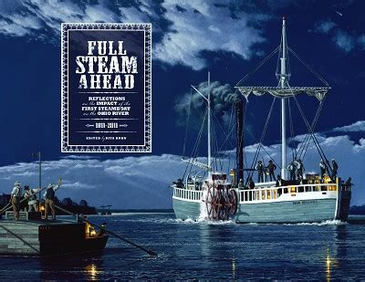 Steamboat Impact by Readers Corner Steam Ahead Reflections On The