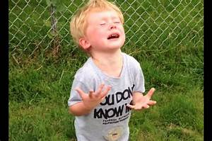 This Kid's Reaction To Stepping In Dog Poop Is Priceless