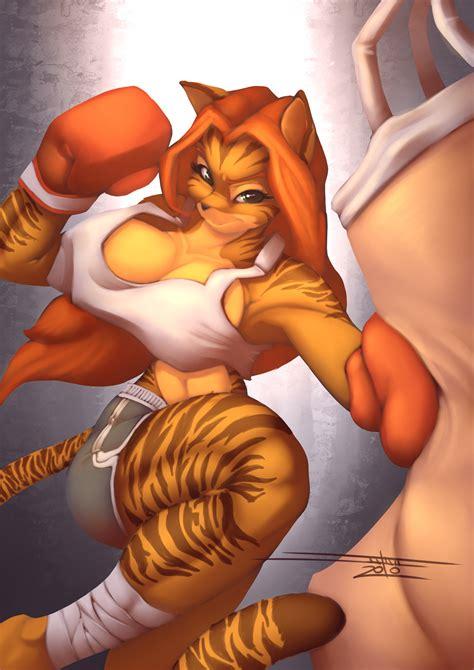 rule 34 boxing breasts cleavage female furry niveus diabolus 1039514