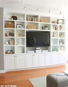 Best living room bookshelves ideas on