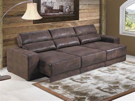 sofa sob medida couro stefany m 243 veis planejados estofados sob medida