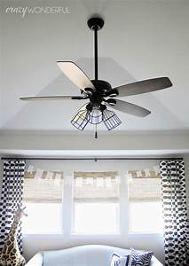 Diy Cage Light Ceiling Fan