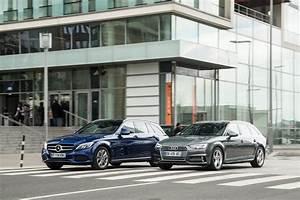 Mercedes Benz Classe C Break : essai comparatif audi a4 avant 2016 vs mercedes classe c break l 39 argus ~ Melissatoandfro.com Idées de Décoration