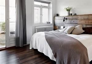 Tete De Lit Bois Flotté : 100 id es pour fabriquer une t te de lit en bois qui transformera votre chambre obsigen ~ Teatrodelosmanantiales.com Idées de Décoration
