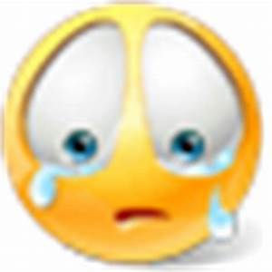 Crying emoticon | Free Emoticons and Smileys