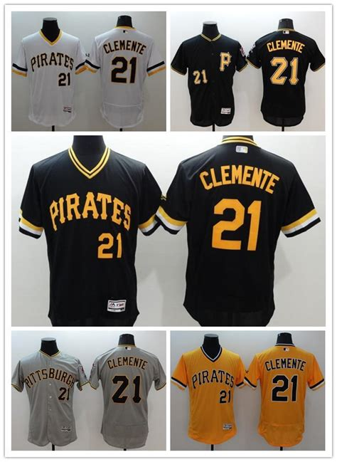 2017 2016 New Arrival 21 Roberto Clemente Cheap Mens