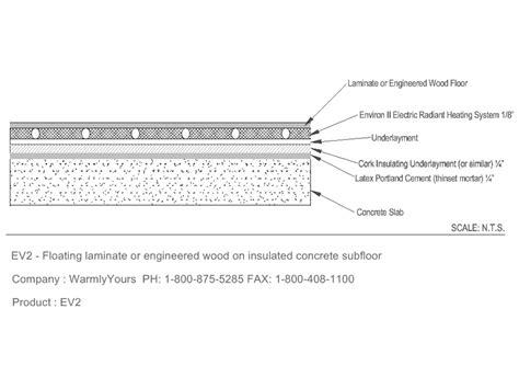 floating floor detail laminate flooring installing laminate flooring slab foundation