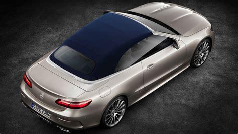 e klasse cabrio 2017 officieel mercedes e klasse cabrio 2017 autofans