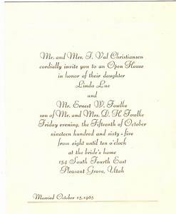 party invitation wording for wedding reception invitation With wedding invitation wording if you are already married