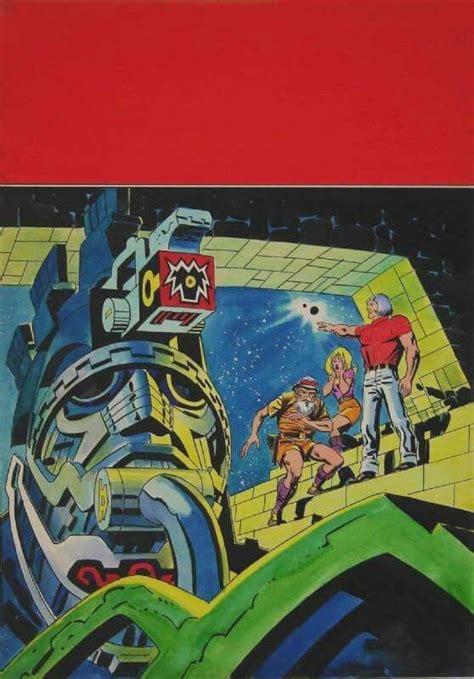 Eternals by Kirby. | Jack kirby, Kirby, Comic art