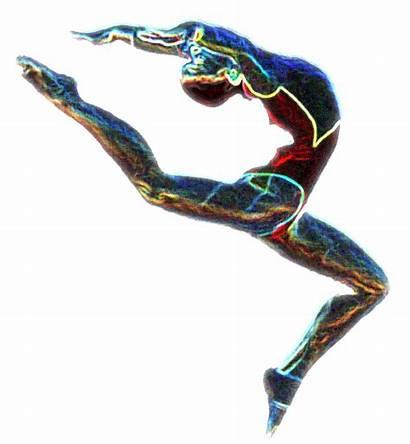 Gymnastics Clipart Clip Tumbling Gymnastic Cliparts Floor