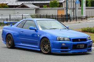 2000, R34, Gtr, In, Bayside, Blue, At, Global, Auto, Osaka