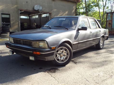 Peugeot 505 For Sale by Peugeot Other 1986 For Sale Vf3ba71y2gs404666 1986