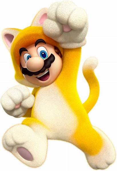 Mario Cat Super 3d Artwork Jump Jumping