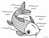 Fish Coloring Pages Koi Printable Japanese Cool2bkids Shark Getcolorings Adult Colorin Tattoo Southwestdanceacademy sketch template