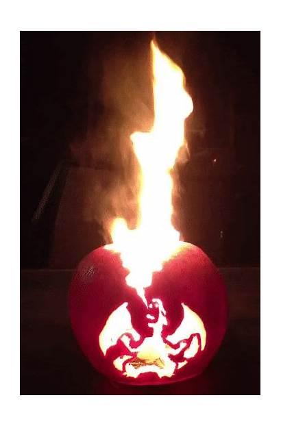 Jack Lantern Halloween Charizard Retrogamingblog Flaming Cool